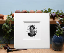 Load image into Gallery viewer, Molly Lemon Print Portrait