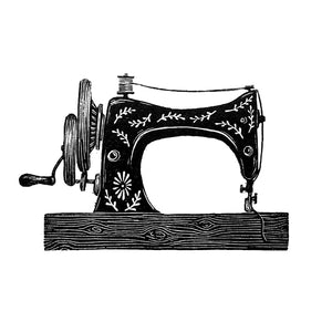 Mini Sewing Machine Molly Lemon Print