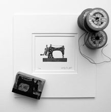 Load image into Gallery viewer, Mini Sewing Machine Molly Lemon Print