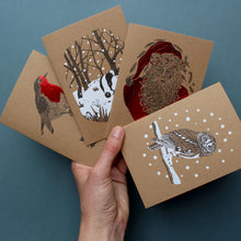 Load image into Gallery viewer, Christmas Cards 4 Mixed Designs
