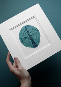 Molly Lemon Wood Engraving Tree