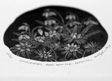 Load image into Gallery viewer, Molly Lemon Wood Engraving Snowdrops