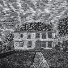 Load image into Gallery viewer, Molly Lemon Wood Engraving Snowshill Manor