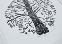 Load image into Gallery viewer, Molly Lemon Wood Engraving Tree