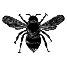 Load image into Gallery viewer, Molly Lemon Wood Engraving Bee