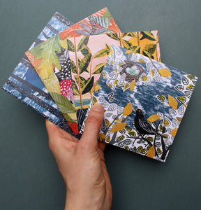 Colourful Nature Collage Card Pack