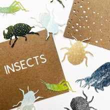 Load image into Gallery viewer, Insects Artist Book