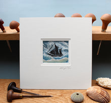 Load image into Gallery viewer, Sailing Boat Collage 2021