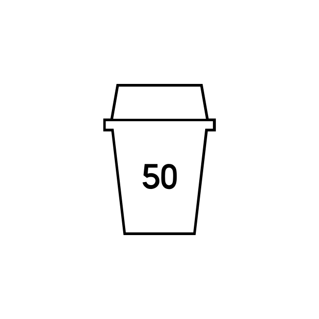 Voucher - 50 Coffees