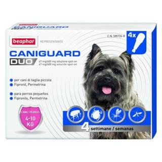 Beaphar Caniguard Duo Cane S 4 Pipette
