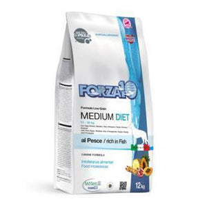 Forza10 Diet Medium Adult con Pesce 12 kg
