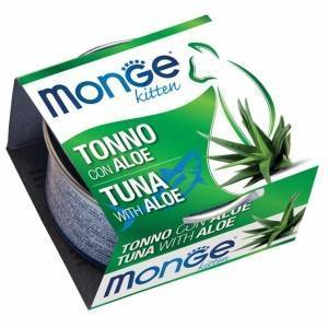 Monge Fruits Kitten Tonno con Aloe 80 g