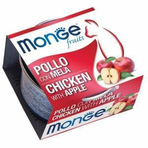 Monge Fruits Pollo con Mela 80 g
