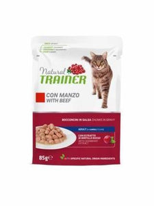 Natural Trainer Adult con Manzo 85 g