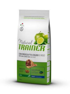 Natural Trainer Maxi Adult con Prosciutto 12 kg