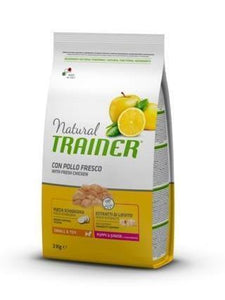 Natural Trainer Small e Toy Puppy e Junior con Pollo Fresco 2 kg
