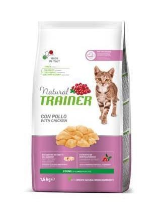 Natural Trainer Young con Pollo 1,5 kg