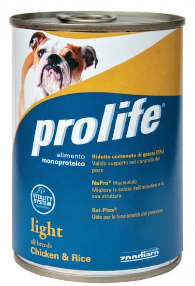 Prolife Wet Light All Breeds Pollo e Riso 400 g
