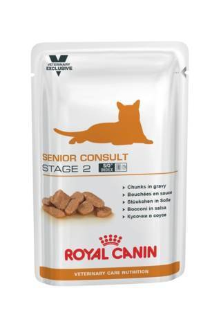 Royal Canin Veterinary Diet Senior Consult Stage 2 in Salsa 12x85 g
