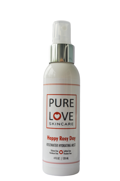 <h4>Happy Rosy Day</h4>Rose Water Hydrating Mist