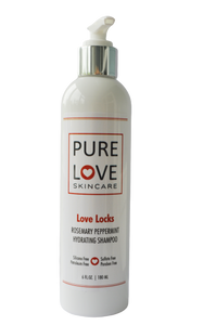 <h4>Love Locks Shampoo</h4>Rosemary Peppermint Hydrating Shampoo