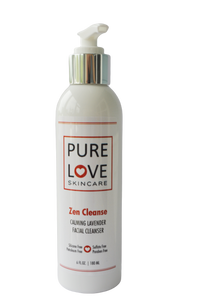 <h4>Zen Cleanse</h4>Calming Lavender Facial Cleanser