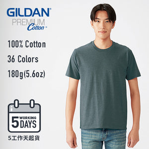【5工作天起貨】GILDAN 180g Adult Cotton T-shirt