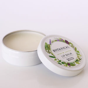 Botanical Mint & Vanilla Lip Balm 15g