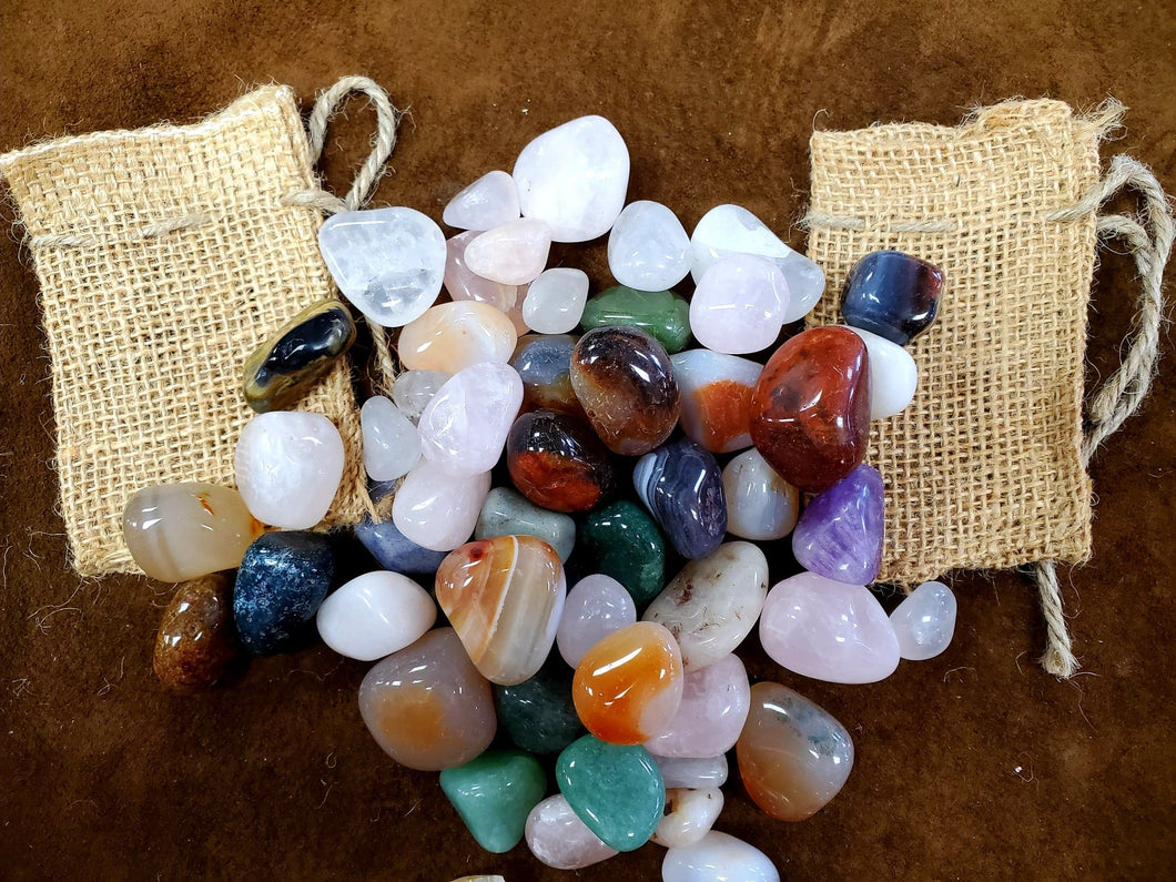 Fill a Pouch with Stones