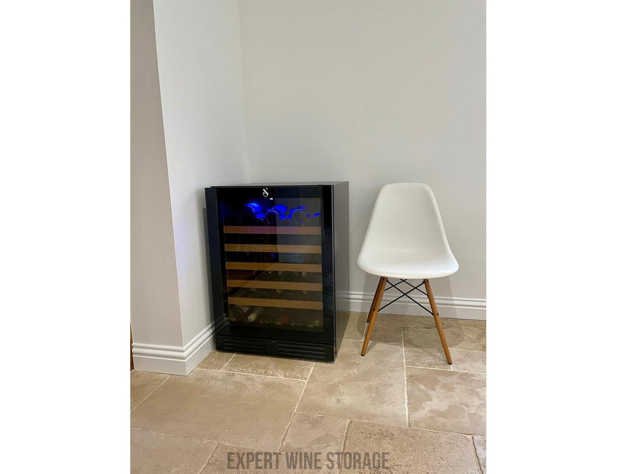 Swisscave WL155F - Single Zone - Built In or Freestanding - 52 Bottles - 595mm Wide