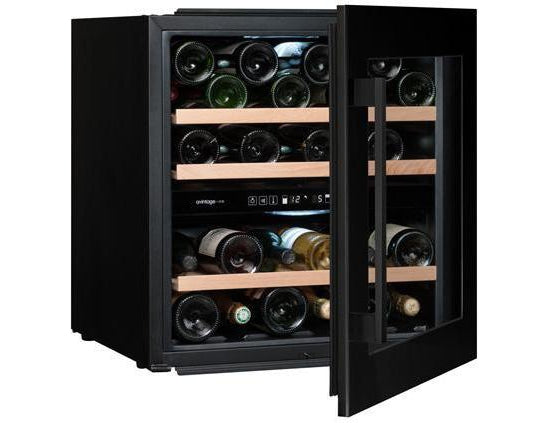 Avintage AVI60CDZA - Dual Zone - 36 Bottles - Integrated - 600mm Wide - Black