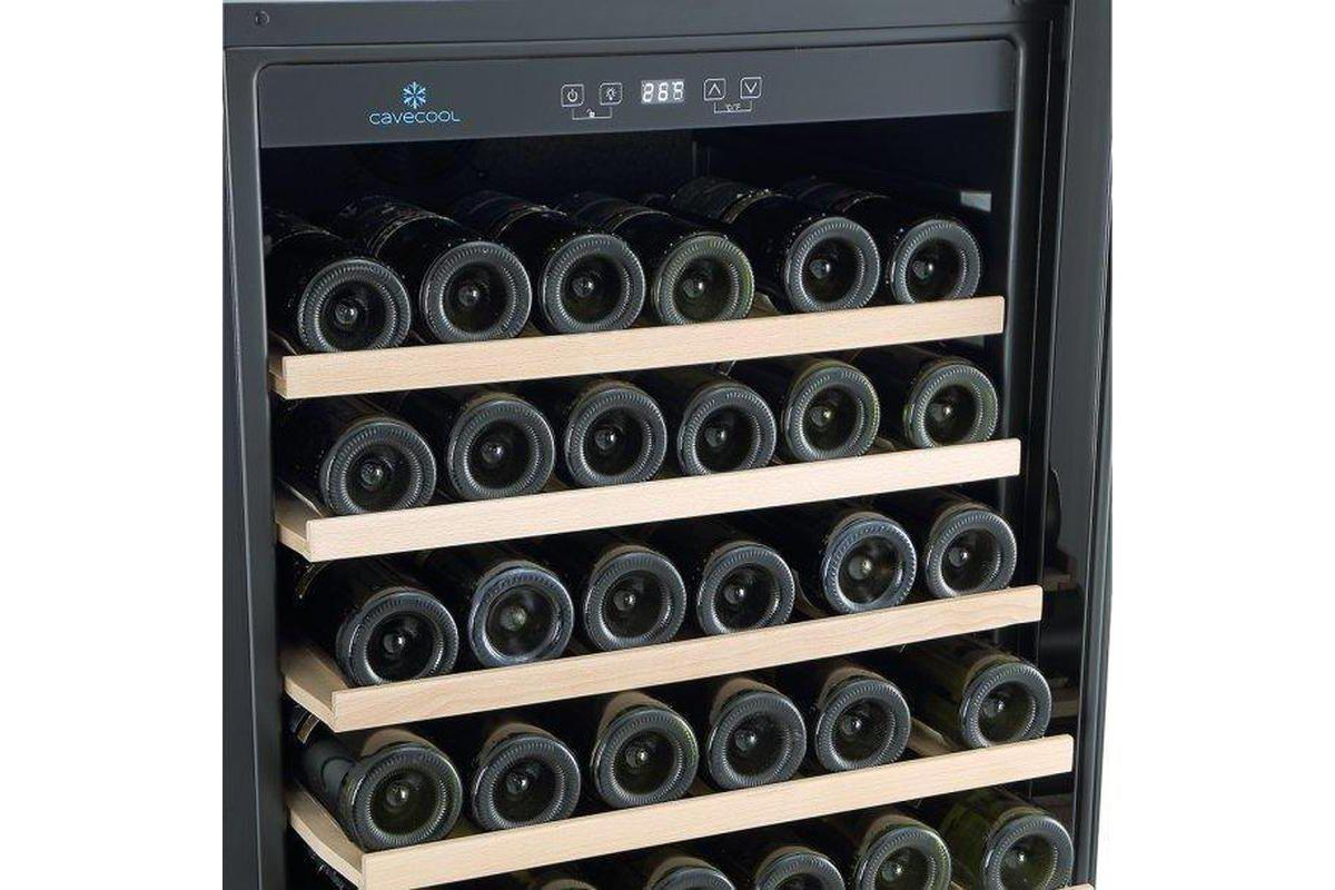 CaveCool Affection Jargon - 54 Bottles - Single Zone - Built In - 595mm Wide-Expert Wine Storage
