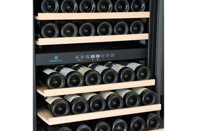 CaveCool Affection Onyx - 210 Bottles - Dual Zone - Built In - 595mm Wide-Expert Wine Storage