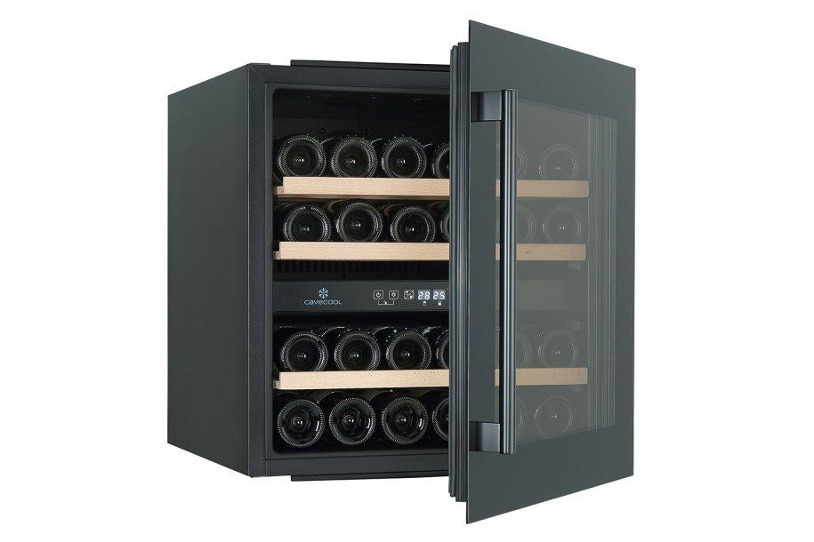 CaveCool Morion Dravite - 36 Bottles - Dual Zone - Integrated - 545mm Wide-Expert Wine Storage