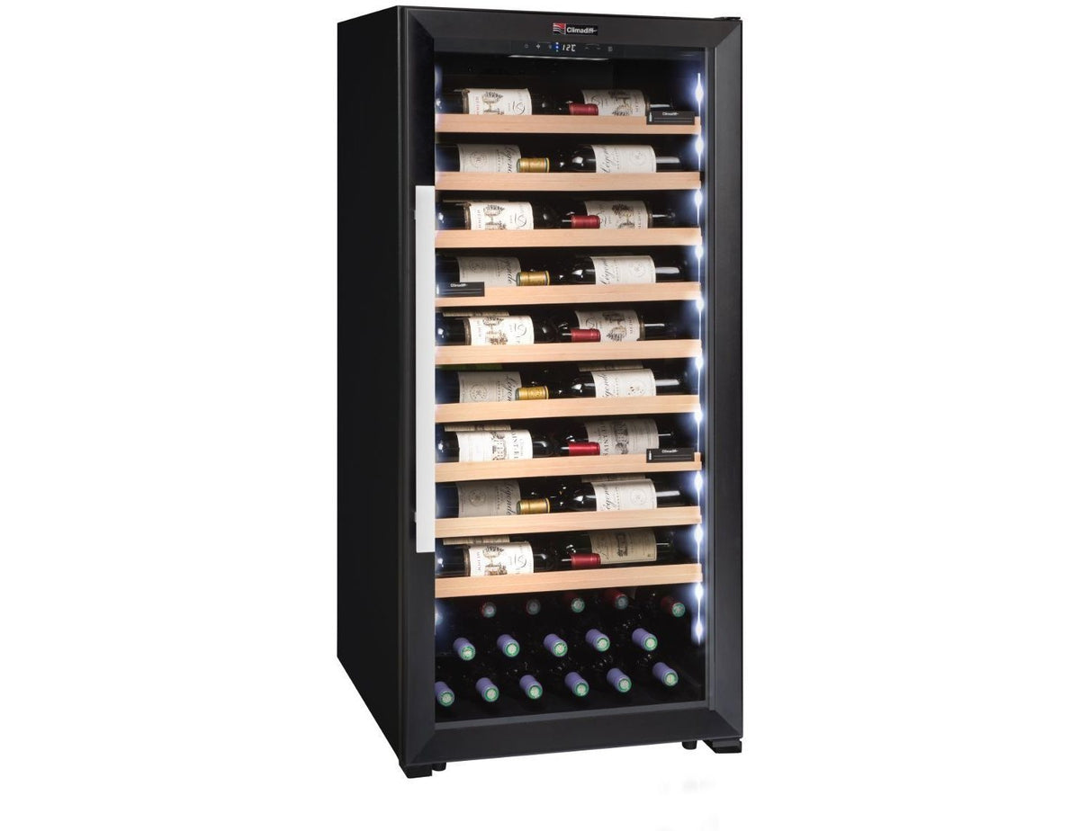 Climadiff CPF100B1 - Single or Multi Zone - Ageing - 98 Bottles - Freestanding - 600mm Wide