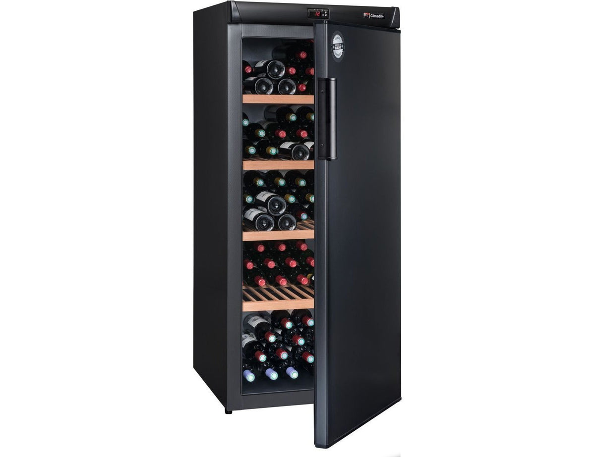 Climadiff CVP185A++ - Single Zone - Ageing Wine Cabinet - 180 Bottles - 620mm Wide