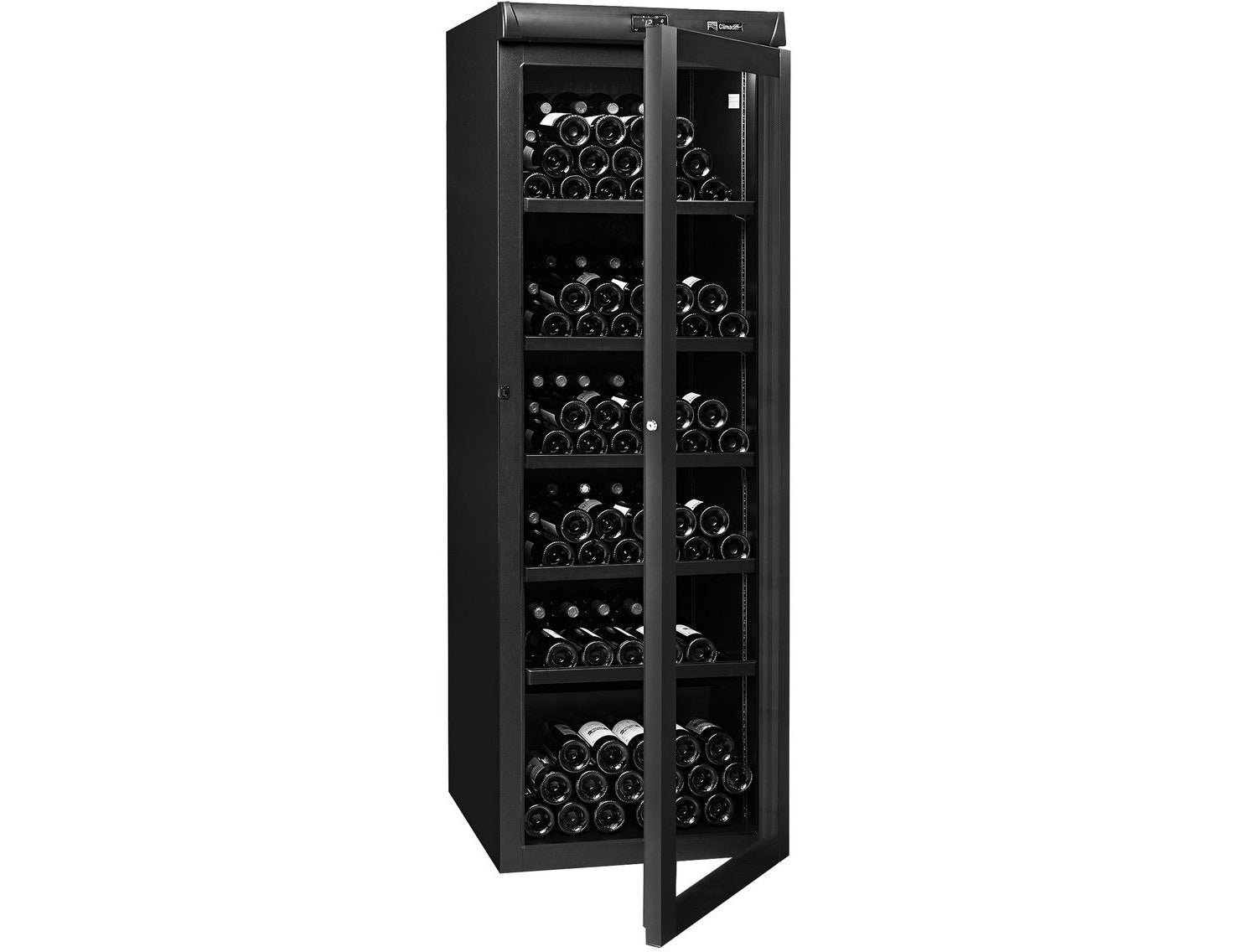Climadiff CVV265B - Single Zone - Ageing Wine Cabinet - 265 Bottles - Freestanding - 620mm Wide