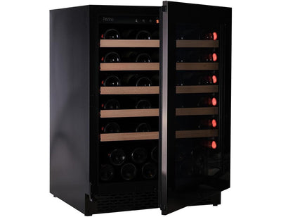 Pevino PNG46S-HHBS - Single Zone - 46 Bottles - Built In - 595mm Wide-Expert Wine Storage