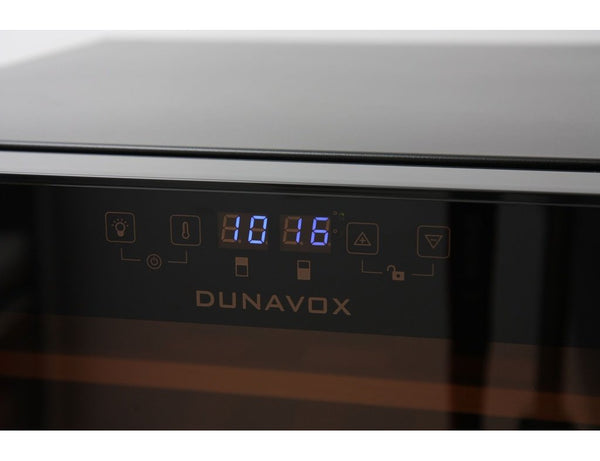 Dunavox DXFH-30.80 - Dual Zone - 30 Bottles - Freestanding - 480mm Wide