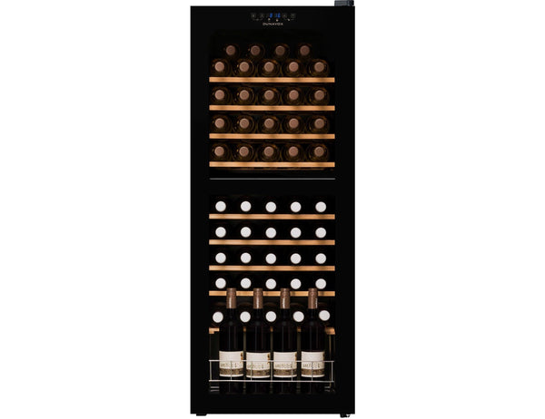 Dunavox DXFH.54.150 - Dual Zone - 54 Bottles - Freestanding - 480mm Wide