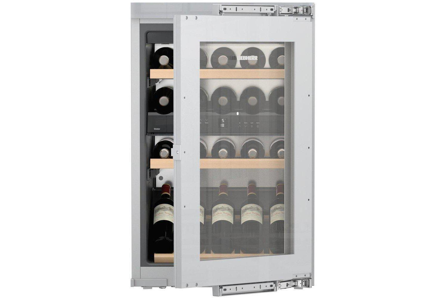 Liebherr EWTdf 1653 Vinidor - Dual Zone - Integrated - 30 Bottles - 560mm Wide-Expert Wine Storage