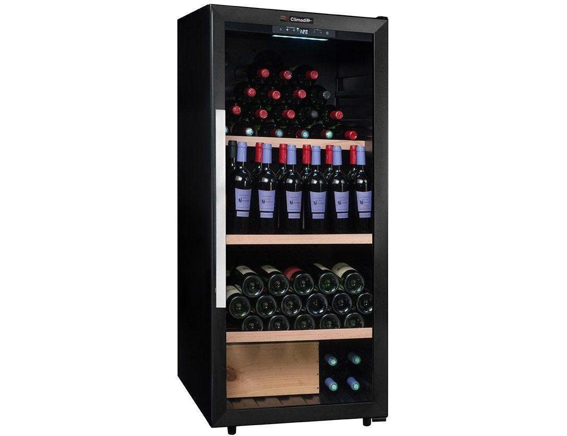 Climadiff CPW160B1 - Single Zone - Ageing - 160 Bottles - Freestanding - 600mm Wide