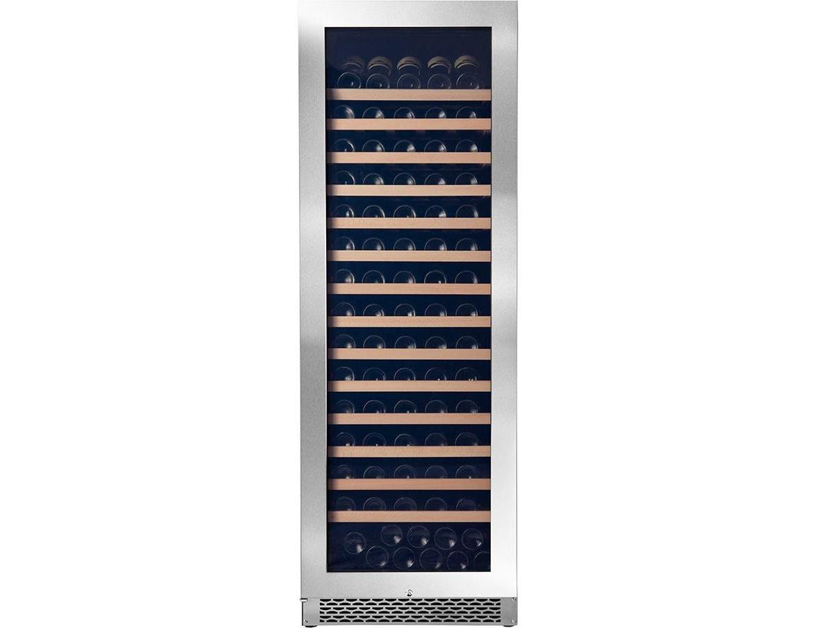 Pevino Ng 200 Bottles - Singe Zone Wine Cooler - Stainless Steel Front-Expert Wine Storage