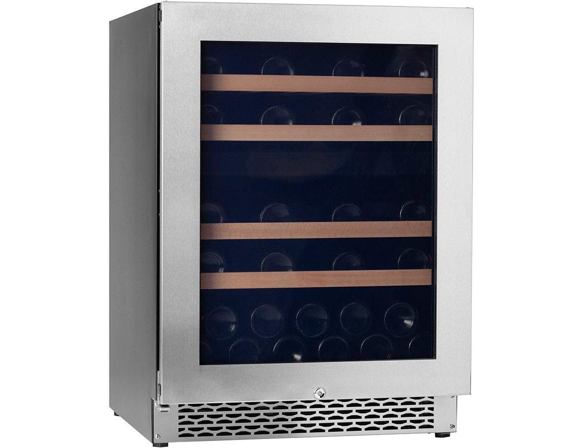 Pevino PNG46D-HHSS - Dual Zone - 39 Bottles - Built In - 595mm Wide-Expert Wine Storage