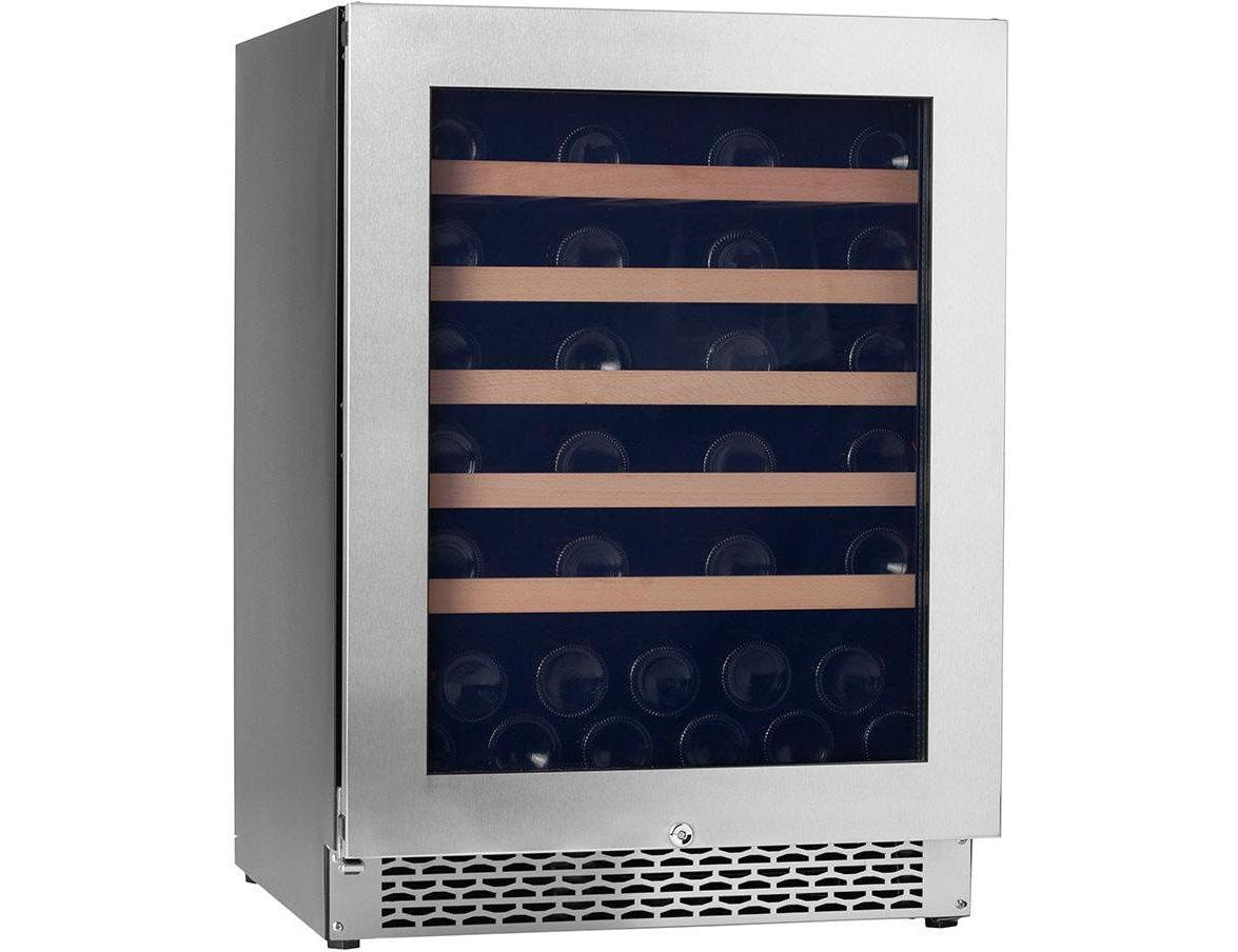 Pevino PNG46S-HHSS - Single Zone - 46 Bottles - Built In - 595mm Wide-Expert Wine Storage