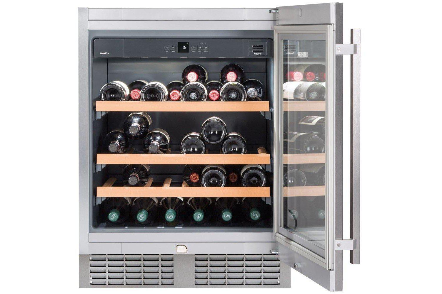 Liebherr UWKes 1752 GrandCru - Single Zone - Integrated - 46 Bottles - 597mm Wide-Expert Wine Storage