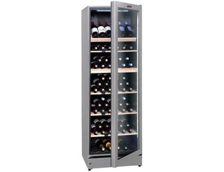 La Sommelière VIP195G - Multi Zone - 195 Bottles - Freestanding - 595mm Wide - Silver