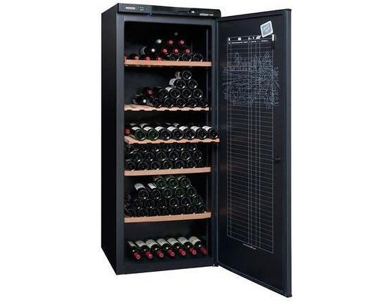 Avintage AV306A+ - Single Zone - Ageing - 294 Bottles - Freestanding - 700mm Wide - Black-Expert Wine Storage