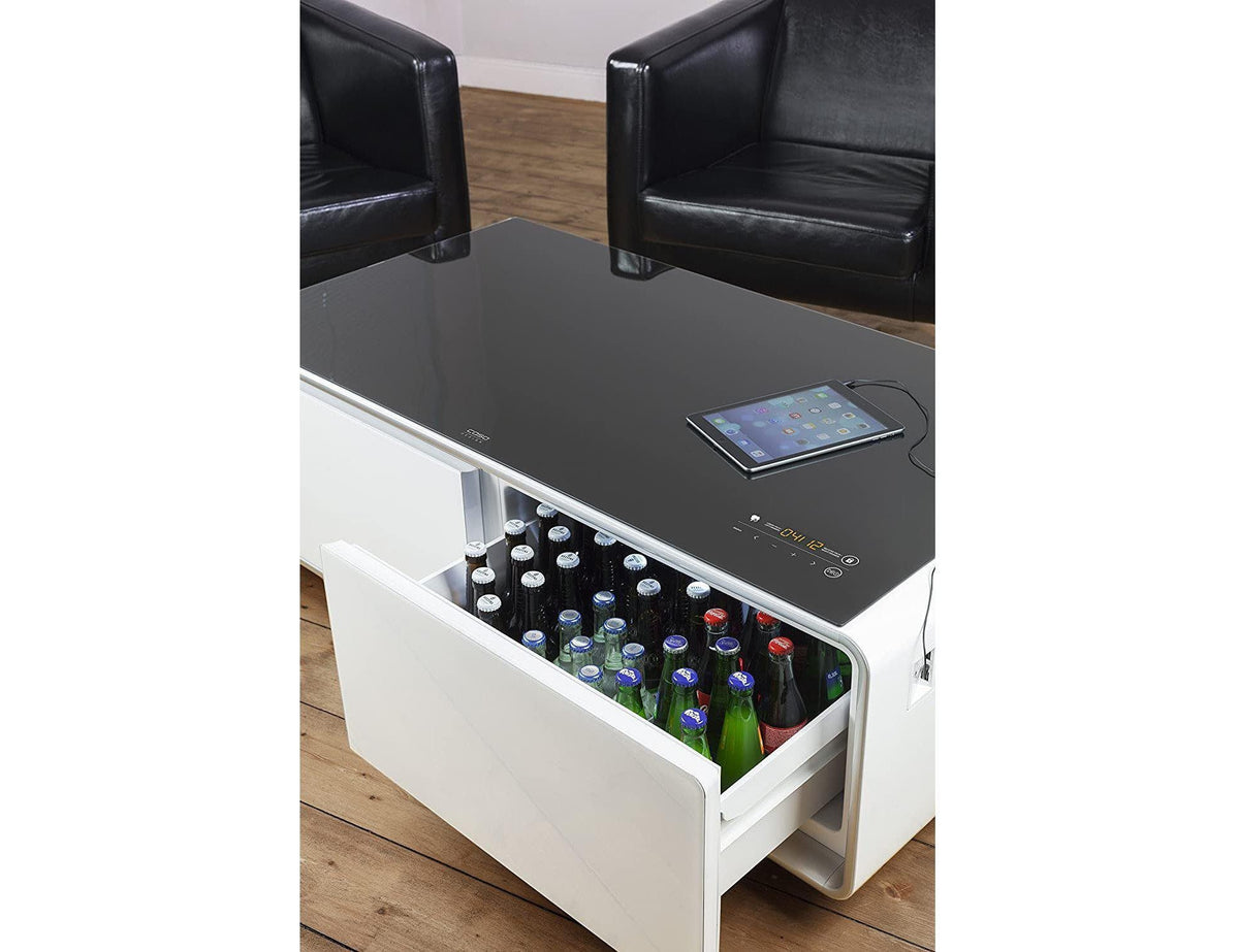 CASO Sound & Cool Table - Combination of Soundbar, Beverage Cooler and Lounge Table