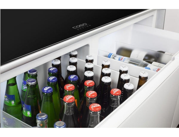 CASO Sound & Cool - Combination of Soundbar, Beverage Cooler and Lounge Table-Expert Wine Storage